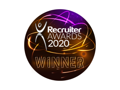 Recruiter Awards 2020 Winner